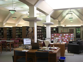 Ashbury College's Library