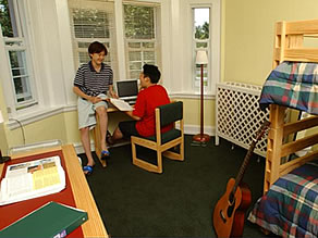 Fulford Academy's Typical Dormitory Room