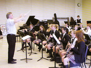 Trinity College School's Music Band
